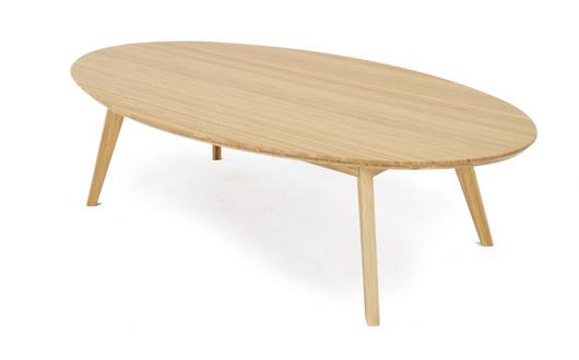 【TEORI】リビングテーブル楕円