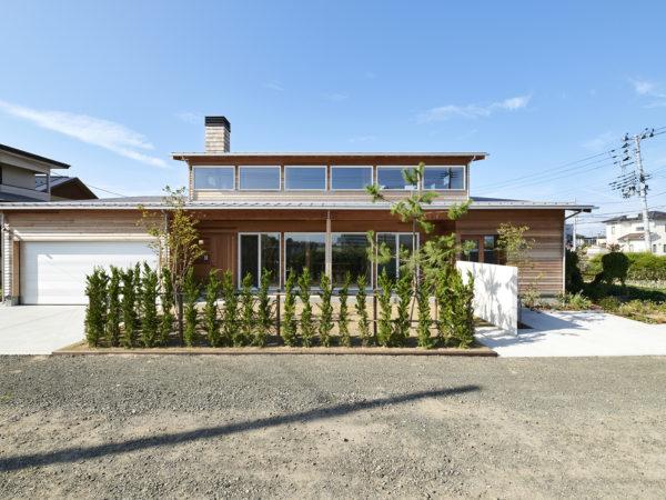 小さな自然と繋がる土間のある家 | モデルハウス